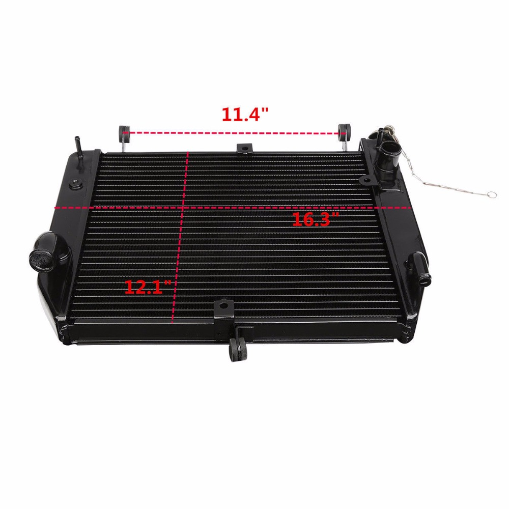 Motorcycle Radiator Cooler Aluminum For Yamaha YZF R1 YZF R1 YZFR1 2002 2003 New