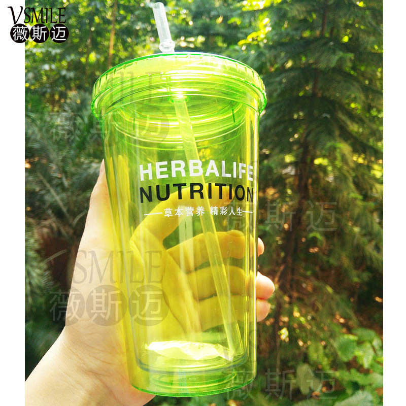 New arrival Herbalife Nutrition 520ml high quality BPA free Straw ...