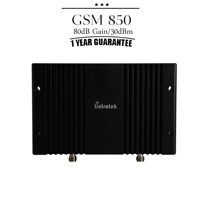 Lintratek 80dB Gain GSM/CDMA 850 Mhz Mobile Signal Booster MGC Function LCD Display 30dBm Cell Amplifier Repetidor De Celular#30