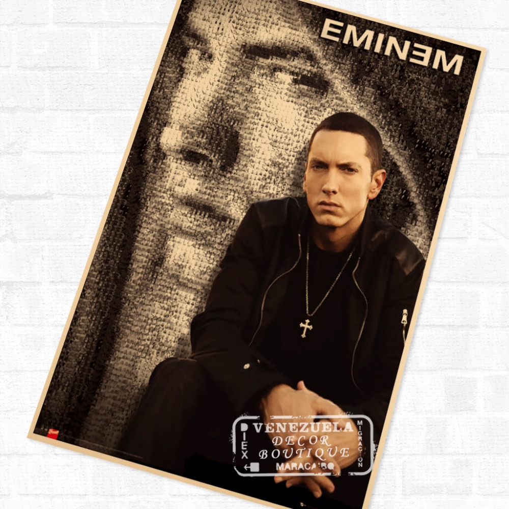 Mosaic, Eminem Vintage Retro Poster Decorative DIY Wall ...