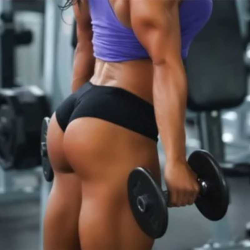 bf96f3e2411d ... *New Soft Sexy Ladies Women Sports Shorts Girls Yoga Skinny Shorts Gym  Training Exercise Workout ...