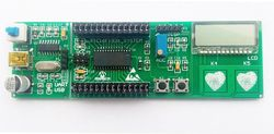 PIC16F1933 Development Board PIC16F1938 Development Board Capacitive Button Touch LCD Code Screen Driver