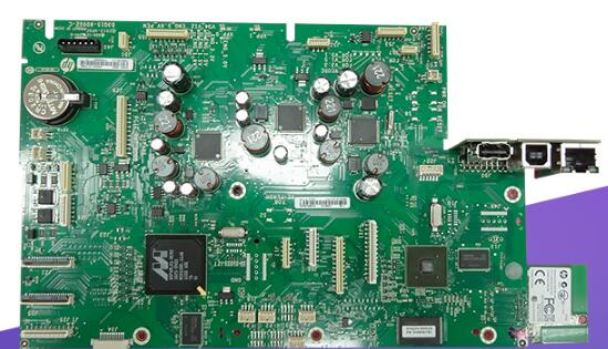 Used FORMATTER PCA ASSY Formatter Board Logic Main Board For HP PageWide Pro 477DW D3q24-67051