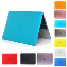 New Transparent Crystal/Matte Case For apple macbook air 11 12 13 Pro 15 Retina laptop case Protector mac 13.3