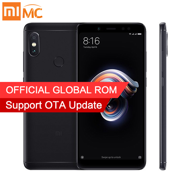 Original Xiaomi Redmi Note 5 4GB 64GB 5.99″ Full Screen Smartphone Global ROM Snapdragon 636 Octa Core AI Dual Cameras 4000mAh