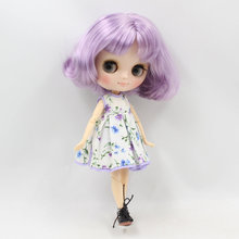 ICY Мидди Блайт Кукла с короткими фиолетовыми волосами на теле 20cm