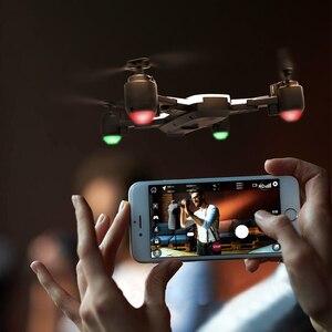 Image 5 - H1GPS çift akıllı hassas konumlandırma dönen katlanır drone jest fotoğraf video uzaktan kumanda uçak