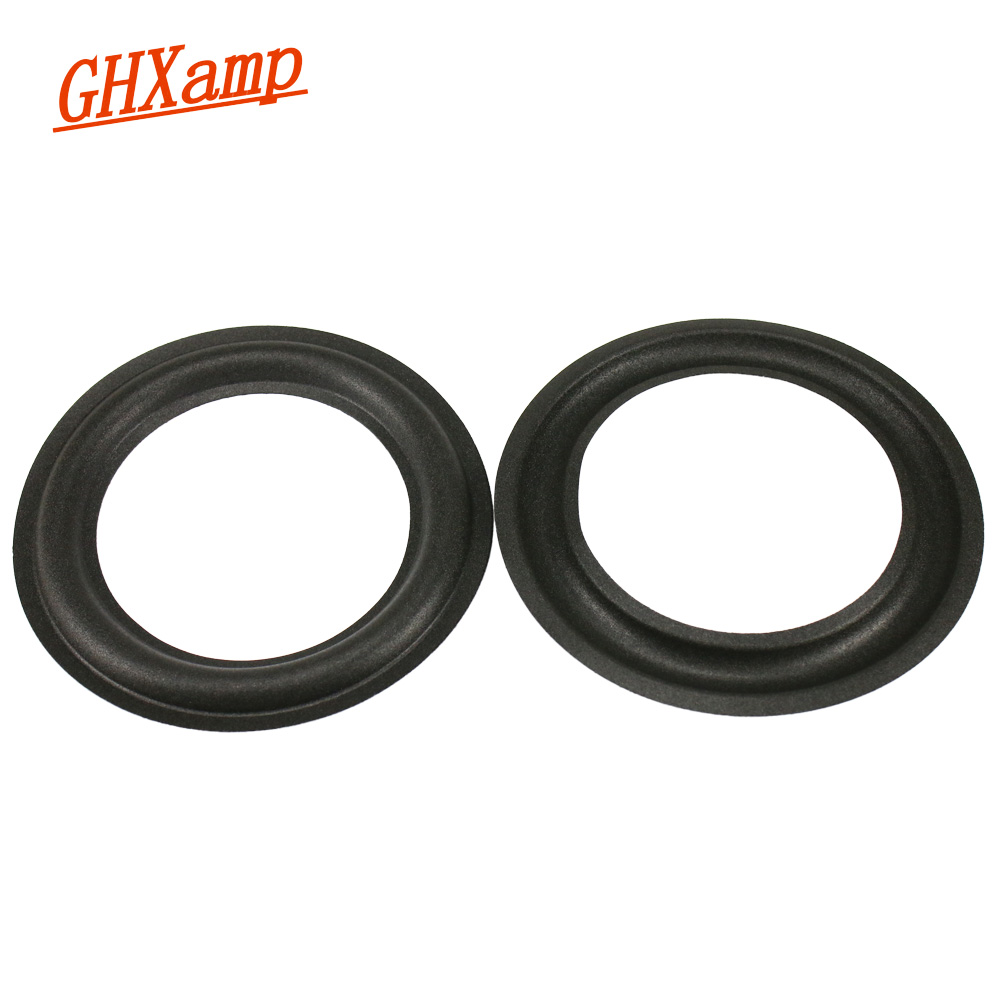 GHXAMP 6.5 Inch 155mm 140mm 110mm 100mm Speaker Suspension Foam Edge Speaker Repair Parts Folding Ring 2pcs