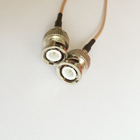 ALLISHOP CCTV Camera Accessorie 5M BNC Cable BNC Male To BNC Male Pigtail Coaxial Cable RG316D