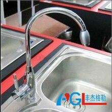 Прямые продажи медь раковина кран кухонный кран меди кран Высокий бросок ведущих CL-1