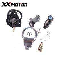 Motorcycle Ignition Switch Fuel Lock Gas Cap Key Set For Yamaha VIRAGO XV125 XV250 XV535VIRAGO XXV240 250 3LS 535 2UJ V star 4RF