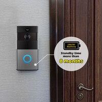 Golden Security WiFi Video Intercom Doorbell 720P HD Alarm Security Camera Night Version Wireless Doorbell With