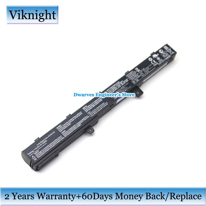 Genuine A31N1319 Battery For Asus X451 X551 X551C X451C X451CA X551CA X551M X551MA F551M F551MAV D550M D550MA