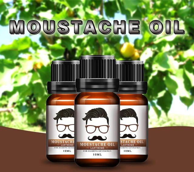 2018 Beard Growth Oil Beards Enhancer Thicker Essence Mustache Thick Sideburn Treatment Sunburst Alopecia Serum Beard Shaping 1