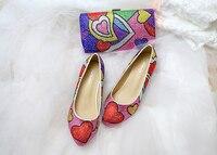 Обувь для девочек и сумка в комплекте с рисунком из мультфильма красивый прекрасный важный праздник Хэллоуин фестиваль подарок на день рож