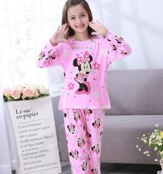 3-12 Years Children Pajama sets Cartoon kids Pyjamas Boys Girls Long Sleeve  Pijamas For enfant child Cotton Clothes NS20 b36a29bfd