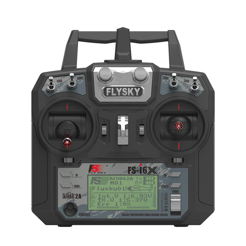 FATJAY FlySky FS-i6X 10CH 2.4G RC Émetteur Avec FS-iA6B FS-iA10B FS-X6B FS-A8S (Option) Récepteur Pour Avion Rc Drone