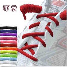 High elastic  lazy shoelaces no tie shoelaces silicone solid shoe lacing for women children men sneaker rubber shoelaces