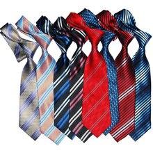Gift For Men Tie Striped Silk Necktie 10cm Width Fashion Jac