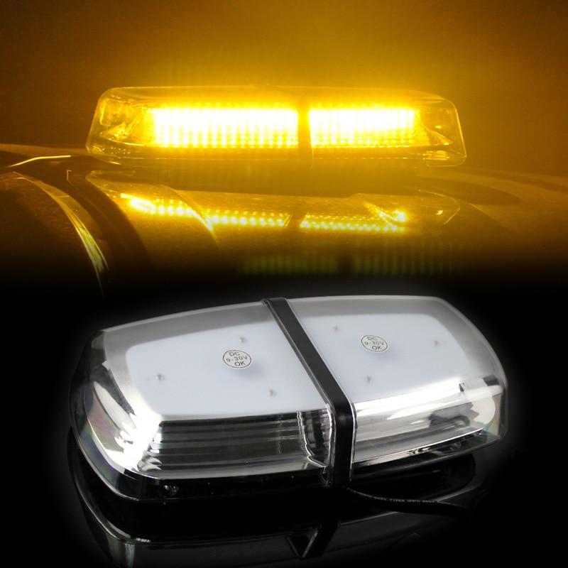 High Power 20W 72SMD LEDs Work Lights Car Interior Ceiling Dome Light Roof Lamp Auto Fog Light Yellow Signal Lamp 12V 24V icoco 12v led car auto drl fog lights headlight lamp bulb 2pcs hid white high power 9004 hb1 2835 smd