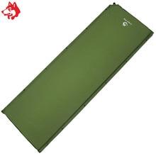 5 см толщина автоматический спальный планшет Самонадувающийся водонепроницаемый коврик синий/зеленый/бордовый открытый туристический тент спальный коврик