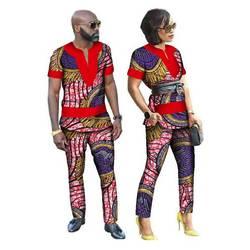 Продвижение Настоящее Для женщин 2018 хлопок все африканские платья, новые, модные, в африканском стиле, пары, костюмы (Для женщин + Мужчины)