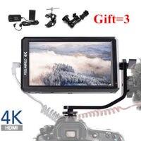 Feelworld Terbaru F6 5,7 ''IPS Dukungan 4 К HDMI Вход Penuh HD на Камера монитор untuk Kamera/видео Dapat listrik untuk DSLR в