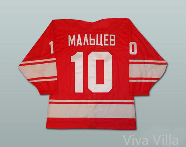 10 Alexander Maltsev Red Pavel Bure White CCCP Russian Hockey Jersey Stitched Embroidered Logo Ice Hoceky Jerseys Viva Villa 2015 61 men s hockey jersey