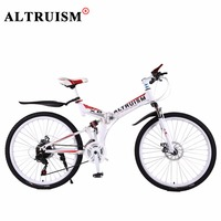 Altruism X6 Mountain Bicycles Steel Bmx 26 Inch 21 Speed Bicicleta Full Suspension Bikes Mens Bisiklet