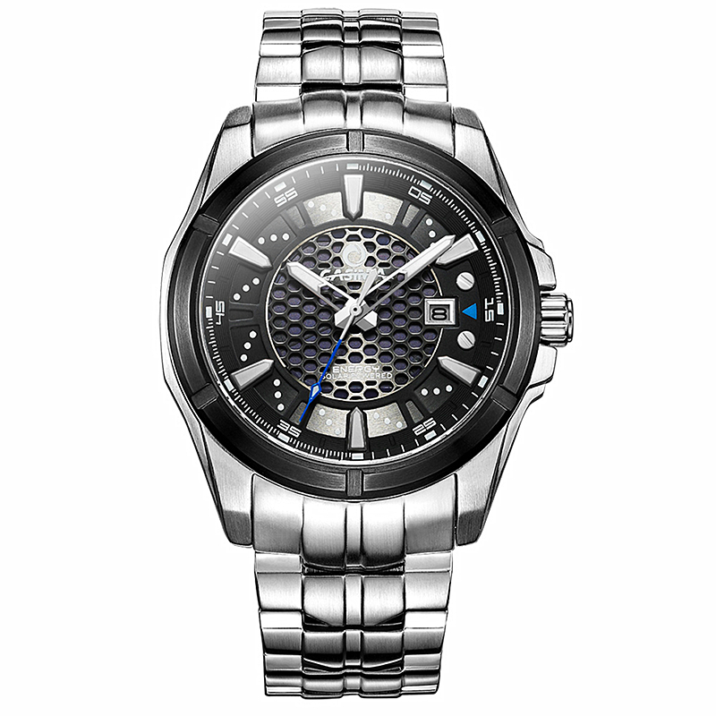 CASIMA Fashion mens Solar watches top brand luxury wrist watch Casual Sport waterproof Luminous Quartz watch relogio masculino
