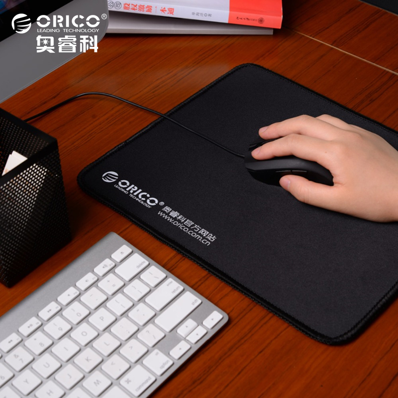 ORICO MPS3025-BK Natural Rubber Cloth Home Office Game Mouse Pad Thick 5mm Durable Beautiful