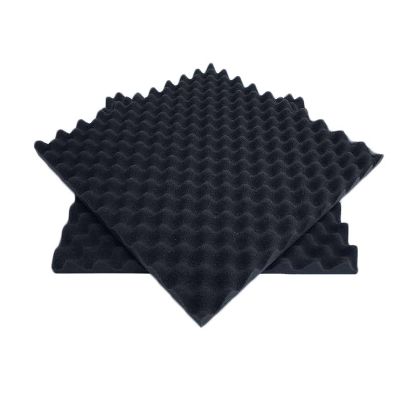 Звукопоглощающие губчатые звукоизоляционные пены акустическая пена регулирование звука студия поглощения комнаты Клин плитка полиуретановая пена - Цвет: black