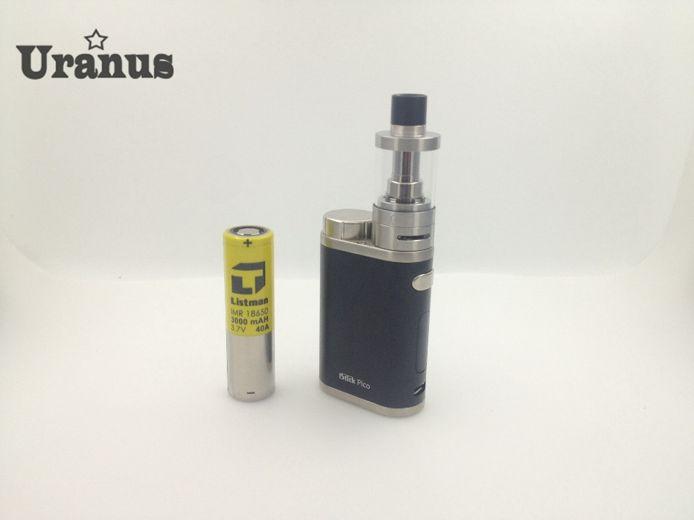 ФОТО Electronic cigarette Eleaf istick pico 75w TC mod with Innokin isub V atomizer 3000mah listman battery with 3 free small gifts