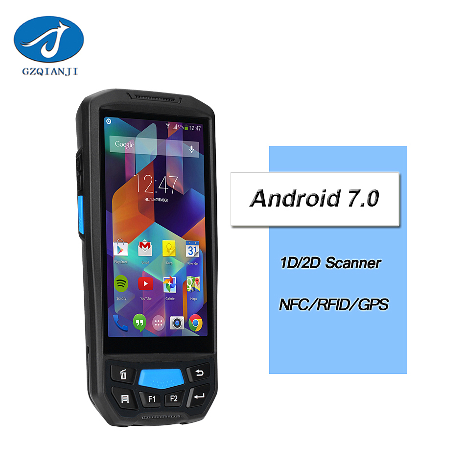 bluetooth android barcode scanner pda For Bus Card Android Pos Terminal RFID Handheld Biometric Smart IC Card Reader Scanner pda