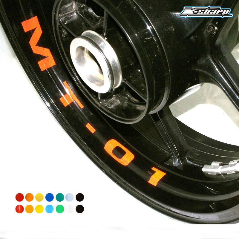 gsx r 750 gsxr750 srad k 12 x SUZUKI GSXR 750 Wheel Rim Stickers Decals