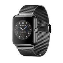 หรูหราบางเฉียบบลูทูธนาฬิกาข้อมือโทรศัพท์นาฬิกาสมาร์ทz50mtk6261smartwatchซิมสนับสนุนการ/nfcบัตรtfกล้องandroidสำหรับแอปเปิ้ล