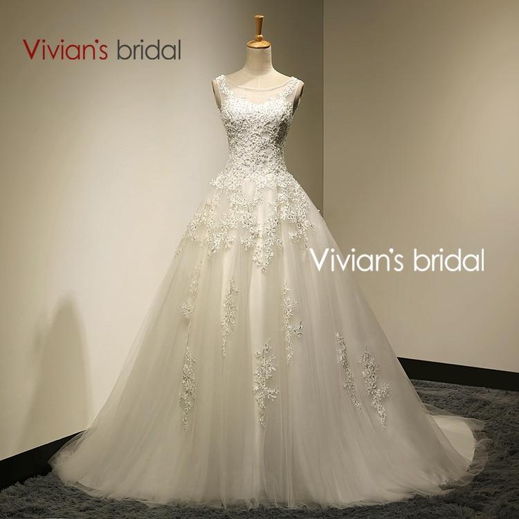 Ball Gown Casamento Vintage Wedding Dress Real Photo In Stock Strapless Vestidos De Novia Bride