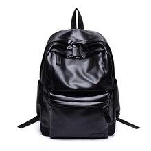 Haute Qualité Angleterre Vintage Style PU Cuir Hommes Sacs À Dos Pour Le Collège Style Preppy École Sacs À Dos pour 14 pouce ordinateur portable sacs
