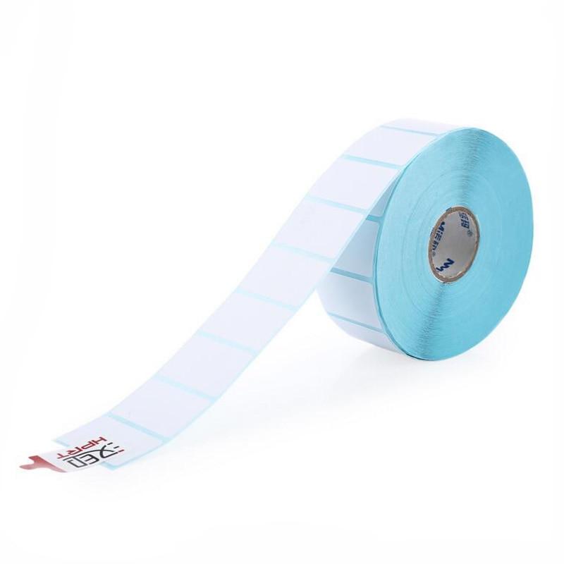 HPRT label thermal printing paper 30 20 1800PCS Waterproof bar code printing paper Sticker label printing