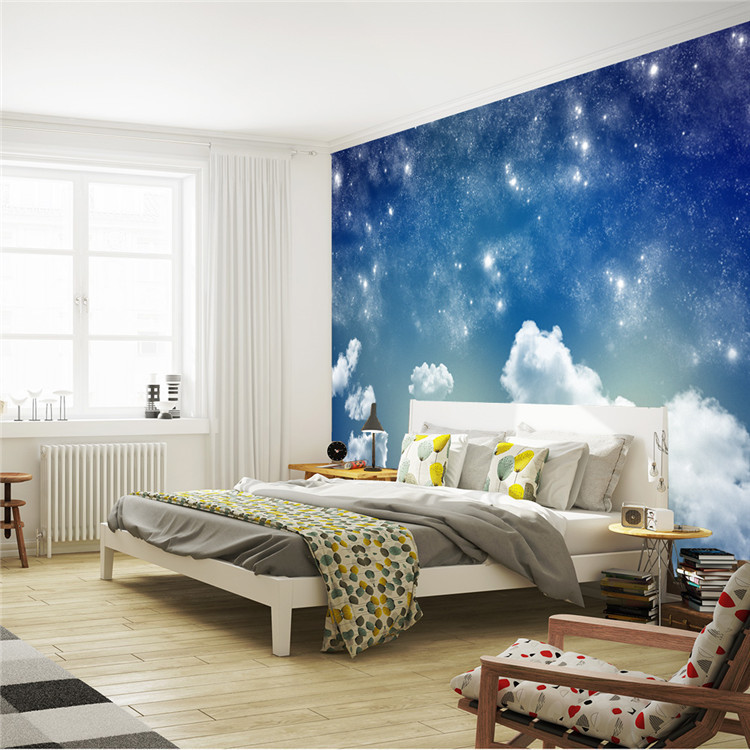 Beautiful Starry sky Wallpaper Galaxy Photo Wallpaper ...