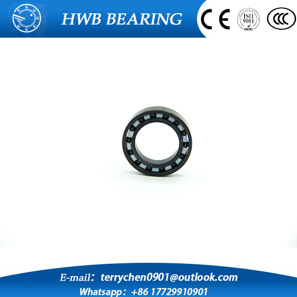 Free shipping 6901 full SI3N4 ceramic deep groove ball bearing 12x24x6mm full complement 61901 P5 ABEC5 681 681zz deep groove ball bearing 1x3x1mm miniature bearing 1 3 1mm full complement