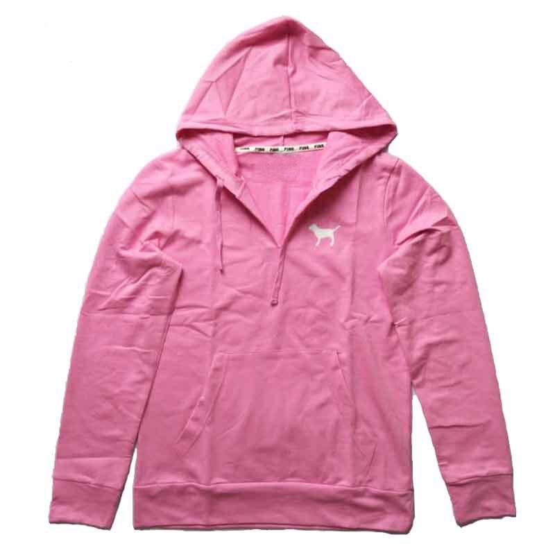 Love pink hoodies cheap