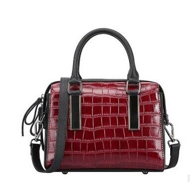 ФОТО  2017 hot sale luxury handbags women bags designer genuine leather  handbags high quality bags free shipping