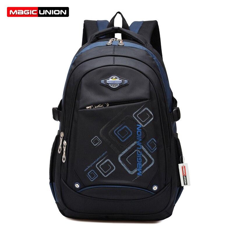 School-Bags Magic Union Backpack Girls Kids Children Boys for in Infantil Zip New
