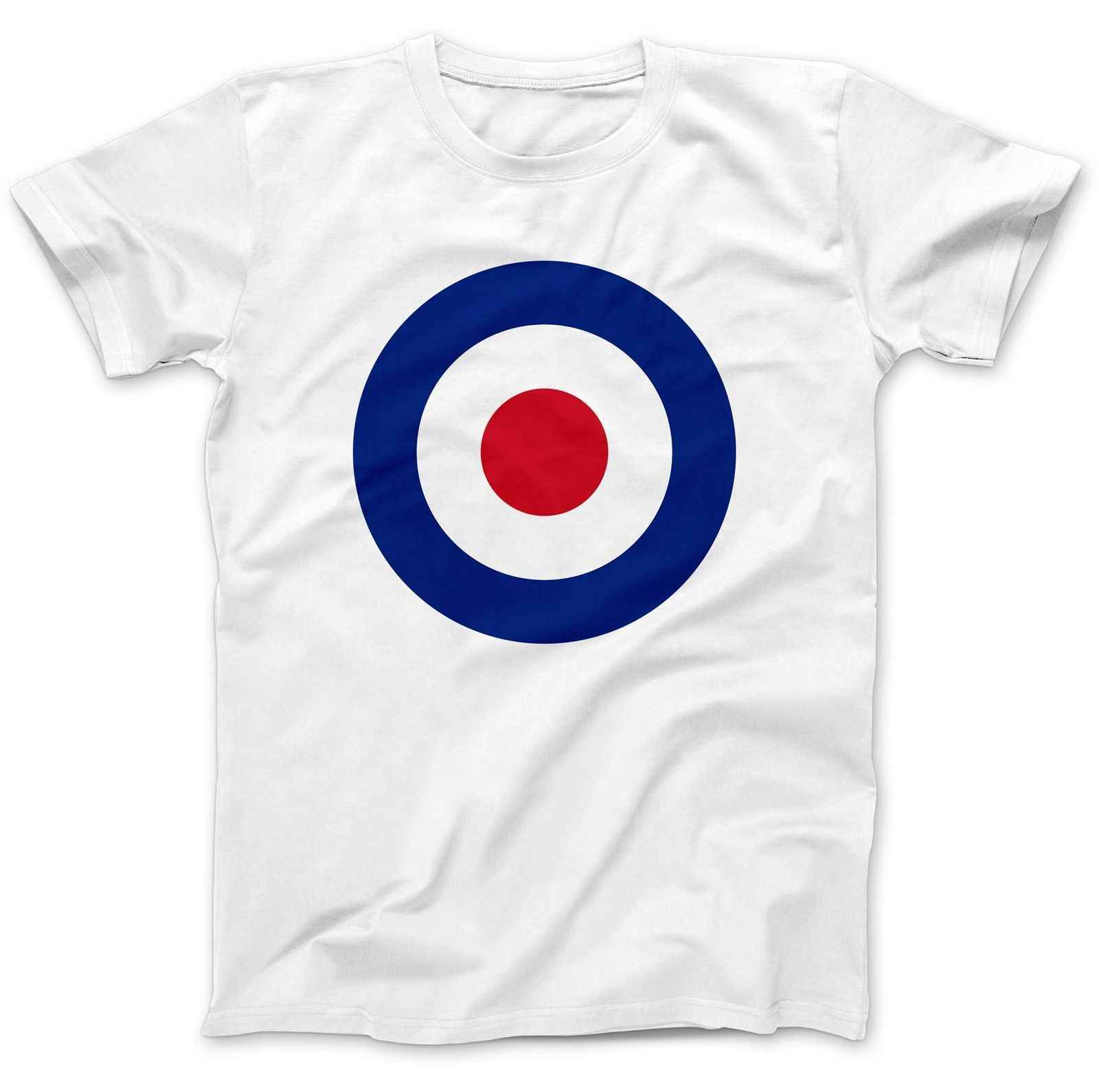 9ac8df78e RAF Roundel Mod Target T-Shirt 100% Premium Cotton The Who Small Faces Cheap