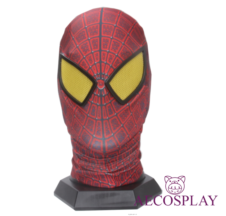 Costume Props Spider-man:into The Spider-verse Spiderman Cosplay Costume Costume Spidey Mask Full Hat Halloween Free Size Free Shipping Elegant In Smell