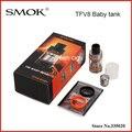 Оригинал Smok TFV8 Ребенка 3 мл Топ-заполнения Регулируемый Поток Воздуха Бак Ребенок Зверь Зверь Sub Ом TFV8 Ребенка танк Распылителя