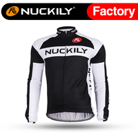 Nuckily WinterMen S Unique Design Sublimation Printing Long Fleece Cycling Apparel ME002
