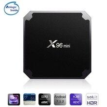 X96 mini Android 7 1 2 TV Box 2G RAM 16G ROM 64Bit Digital Player S905W