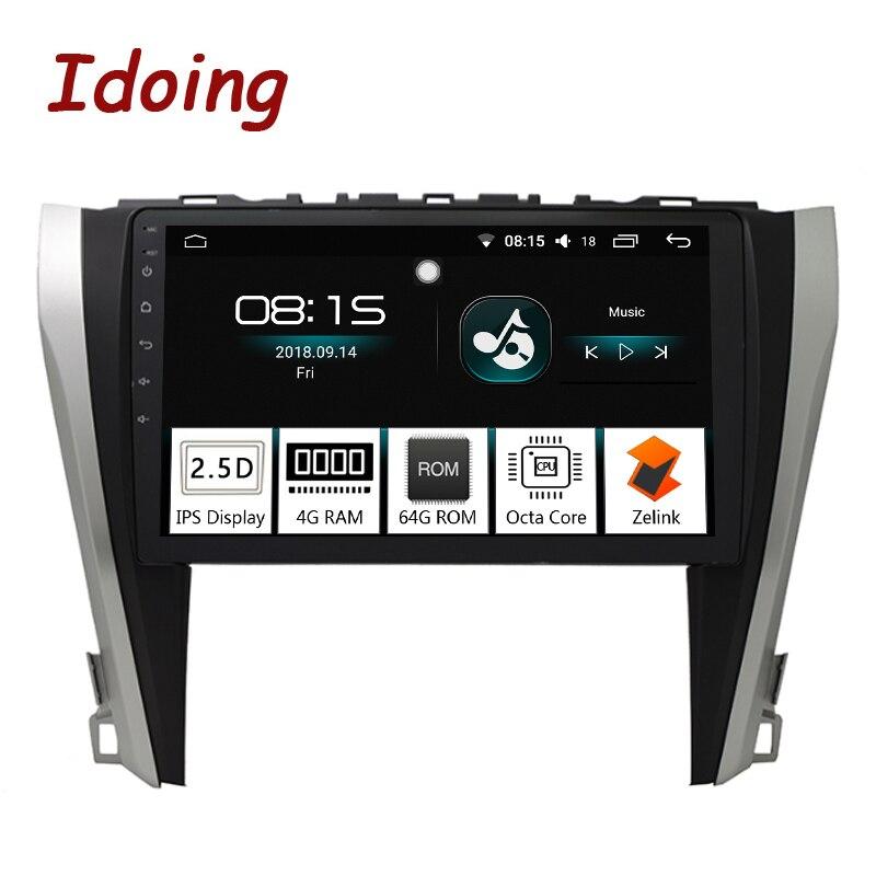 Idoing 10 2 IPS 2 5D 4GB 64GB 1Din Android8 0 Car Radio Multimedia GPS Player